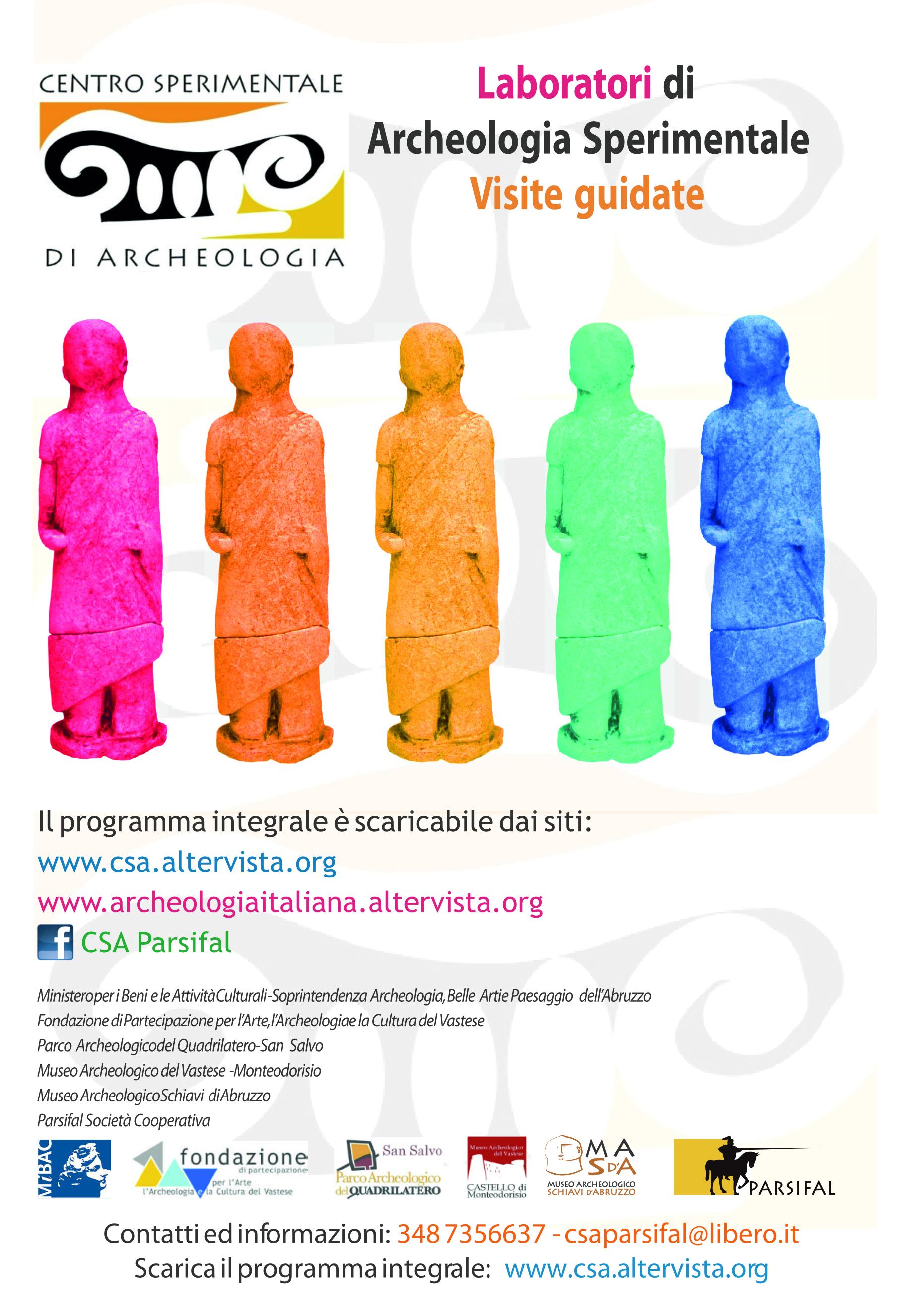 2018 2019 Offerta Formativa Centro Sperimentale di Archeologia